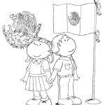 Dibujos del día de la Bandera de México, 24 de febrero