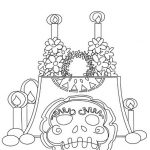 Dibujos del Día de Muertos, 1 y 2 de noviembre