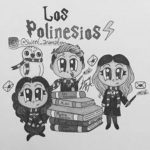 Dibujos de Los Polinesios (Karen, Leslie, Rafa) para colorear, descargar e imprimir