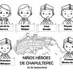 Dibujos del día de los Niños Héroes, 13 de septiembre