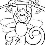 Dibujos de Monos para colorear, descargar e imprimir