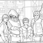 Dibujos de los Personajes de Star Wars para colorear, descargar e imprimir