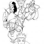 Dibujos de Villanos de Disney para colorear