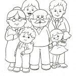 Dibujos Día del Abuelo para colorear, descargar e imprimir