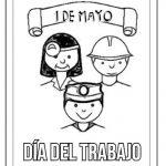 Dibujos del Día del Trabajador para colorear, descargar e imprimir