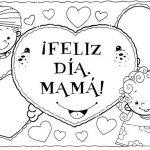 Dibujos Día de las Madres para colorear, descargar e imprimir