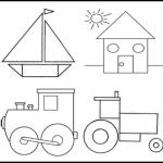 Dibujos de Figuras geométricas para colorear, jugar y aprender