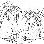 Dibujos del Verano para colorear, descargar e imprimir