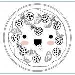 Dibujos Kawaii de Comida para colorear, descargar e imprimir