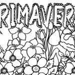 Dibujos de la Primavera para colorear, descargar e imprimir