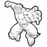 Dibujos de Hulk para colorear, descargar e imprimir