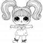 Dibujos de muñecas LOL para colorear, descargar e imprimir