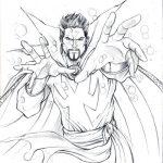 Dibujos de Doctor Strange para colorear, descargar e imprimir