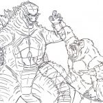 Dibujos de Godzilla para colorear, descargar e imprimir