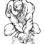 Dibujos de Venom para colorear, descargar e imprimir